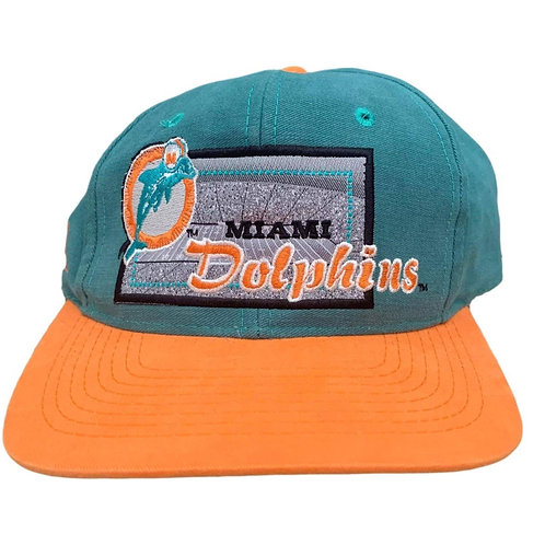 Vintage Miami Dolphins Snapback Hat By Apex One