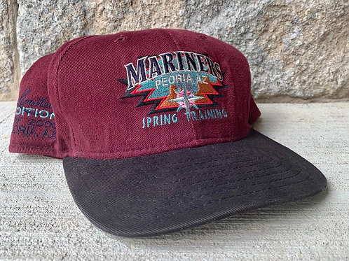 Vintage Seattle Mariners Snapback Hat By New Era