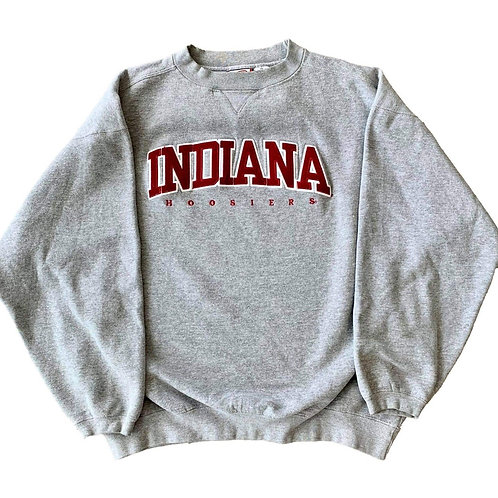 Vintage Indiana Hoosiers Crewneck Sweater By Cadre Athletic
