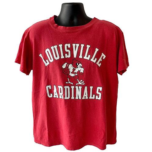 Vintage Louisville Cardinals T Shirt By Champion