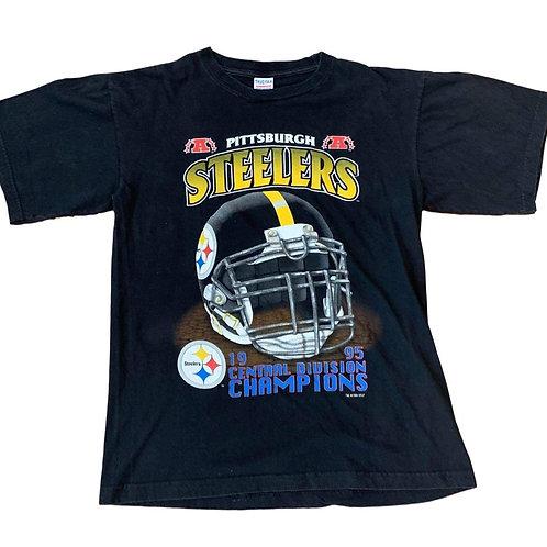 Vintage Pittsburgh Steelers T Shirt By True Fan