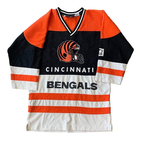 Vintage Cincinnati Bengals Crewneck Sweater By Starter