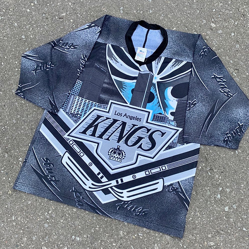 Vintage Los Angeles Kings All Over Print Jersey By Maska