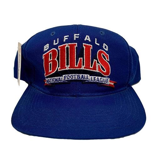 Vintage Buffalo Bills Snapback Hat By Starter