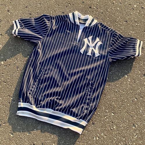 Vintage New York Yankees Zip Up Sweater