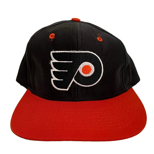 Vintage Philadelphia Flyers Snapback Hat By Competitor