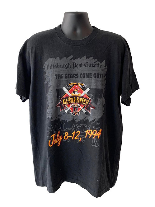 Vintage Pittsburgh Pirates T Shirt By Front Pages