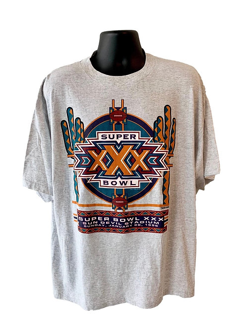 Vintage Super Bowl XXX T Shirt By Competitor