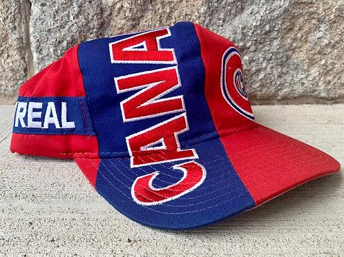 Vintage Montreal Canadiens Snapback Hat By Starter