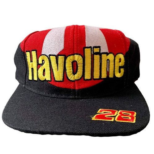 Vintage Havoline Racing Snapback Hat By Kudzu