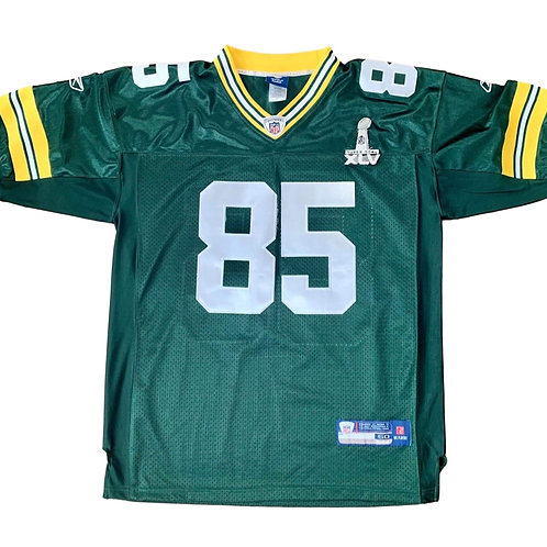 Vintage Green Bay Packers Greg Jennings NFL Football Jersey By Reebok
