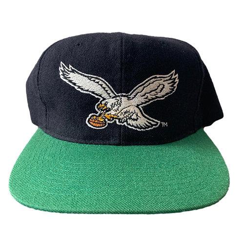 Vintage Philadelphia Eagles Snapback Hat By Starter
