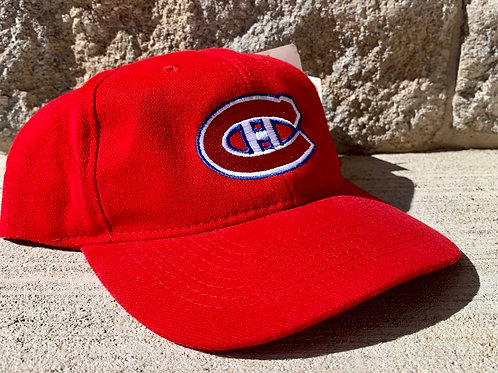 Vintage Montreal Canadiens Snapback Hat By Ccm