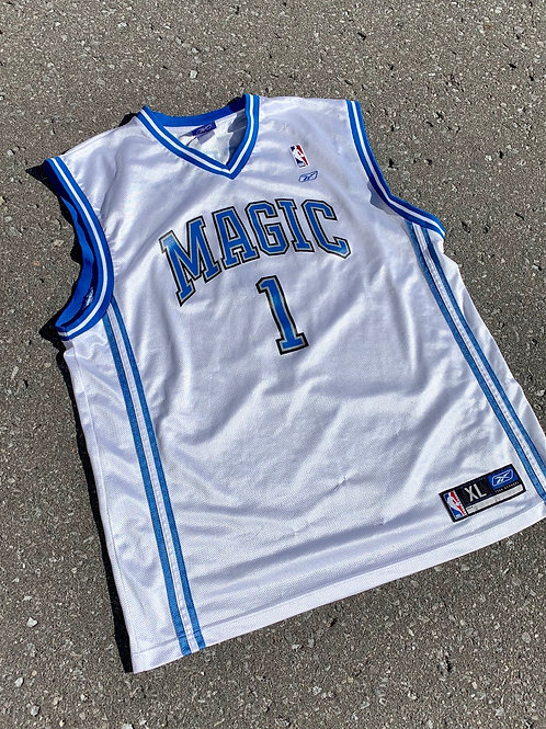 Vintage Orlando Magic Tracy Mcgrady Nba Basketball Jersey By Reebok