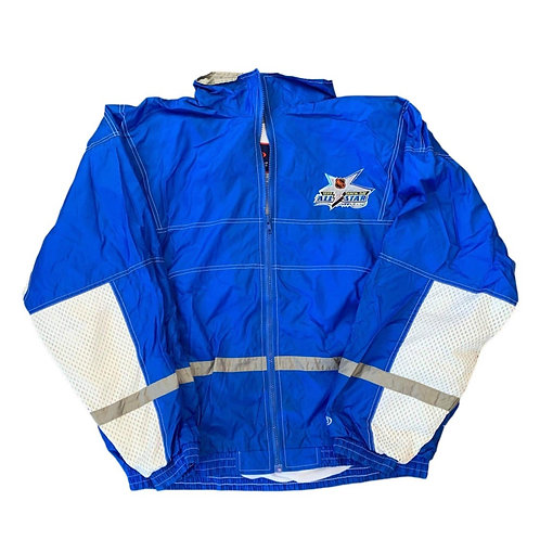 Vintage 1999 NHL All Star Windbreaker Jacket By Pro Player
