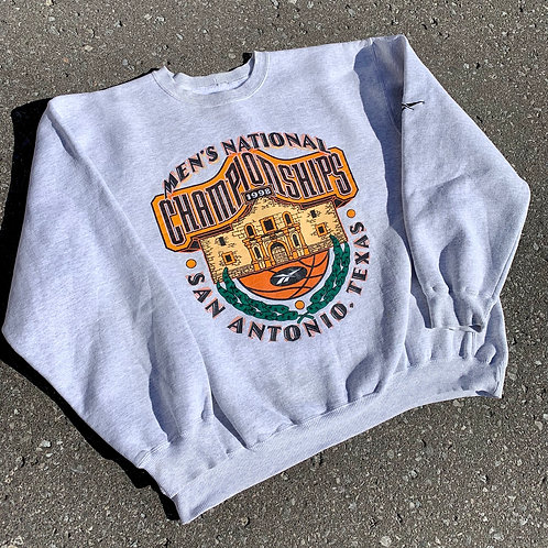 Vintage Ncaa National Championship Crewneck Sweater By Reebok