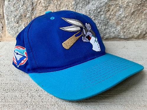 Vintage Toronto Blue Jays Bugs Bunny Looney Tunes Snapback Hat
