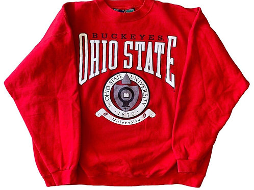 Vintage Ohio State Buckeyes Crewneck Sweater By GS Sport