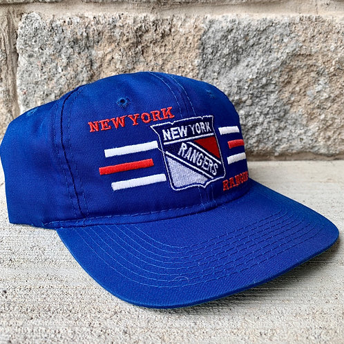 Vintage New York Rangers Snapback Hat By The Game