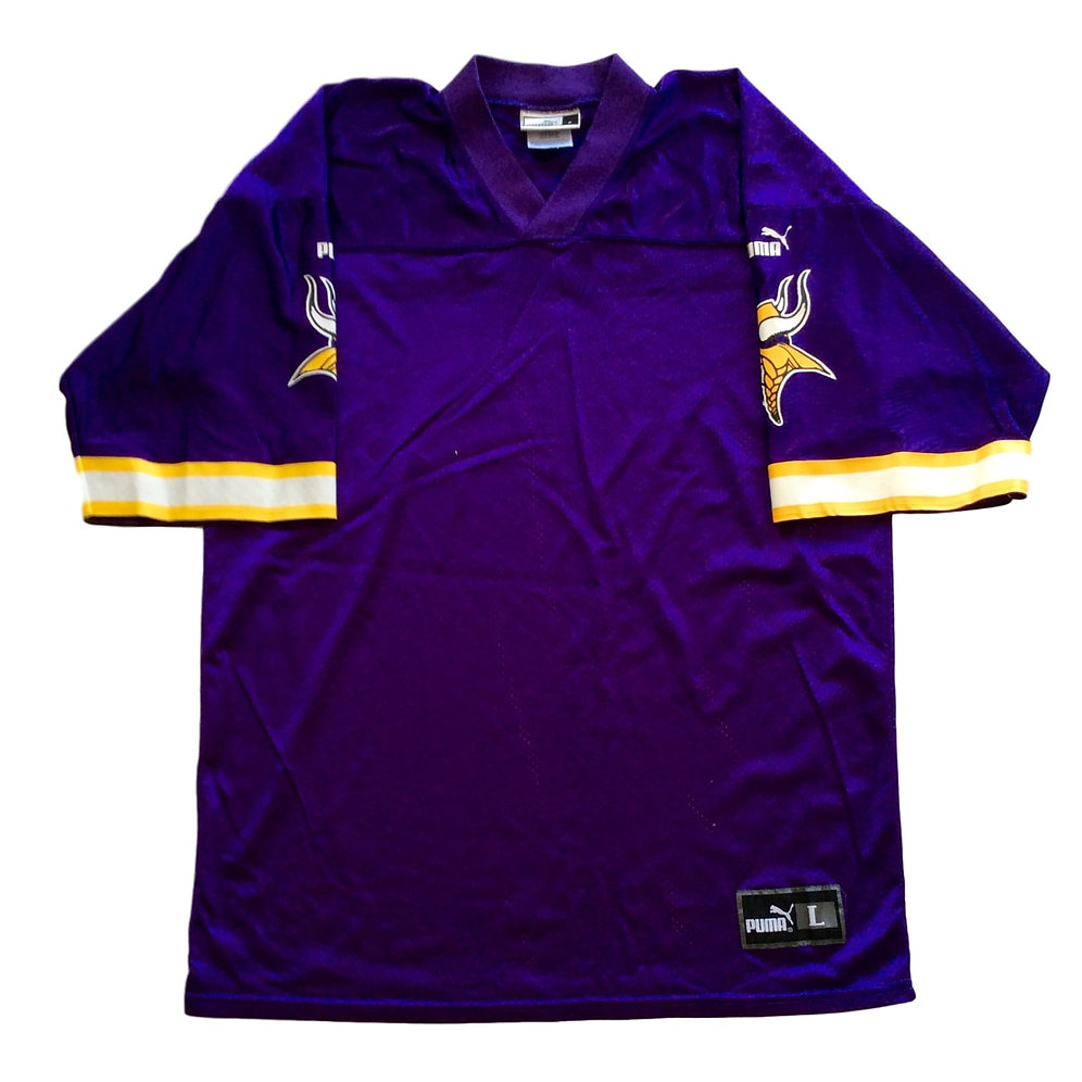 outlet store 5f552 cb903 Vintage Minnesota Vikings Jersey by Puma