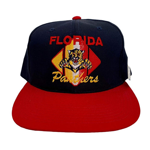 Vintage Florida Panthers Snapback Hat By CCM