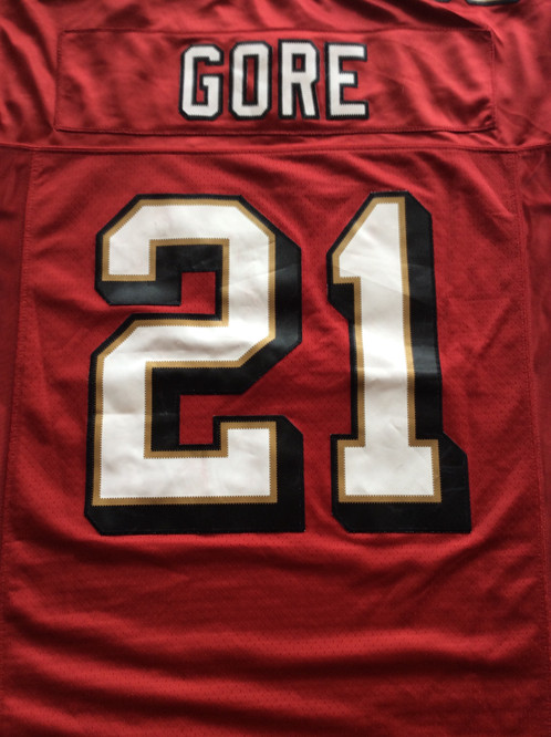 San Francisco 49ers Frank Gore Jersey by Reebok. C 24.00. f00234350