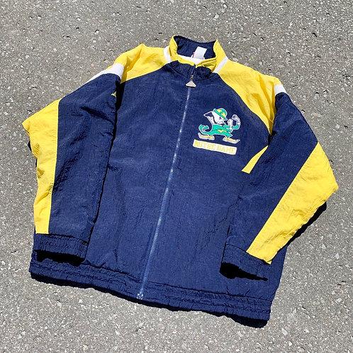 Vintage Notre Dame Irish Jacket By Apex One