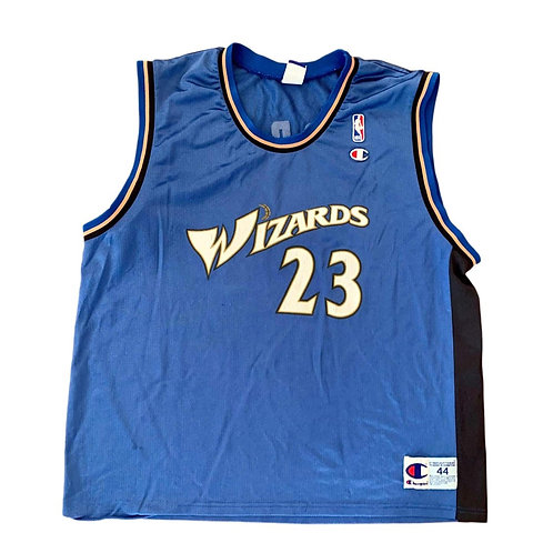 Vintage Washington Wizards Michael Jordan NBA Basketball Jersey By Champion