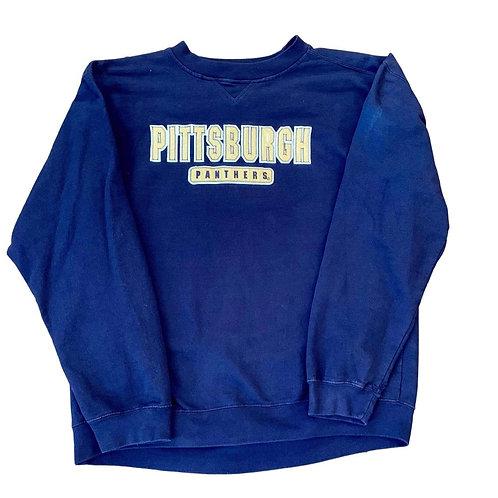 Vintage Pitt Panthers Crewneck Sweater