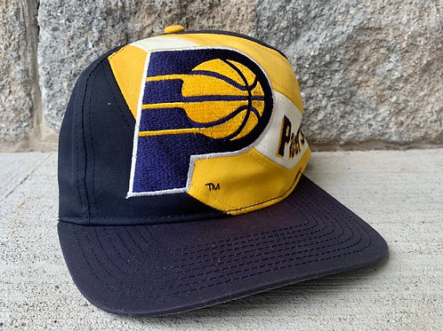 Vintage Indiana Pacers Snapback Hat By Twins