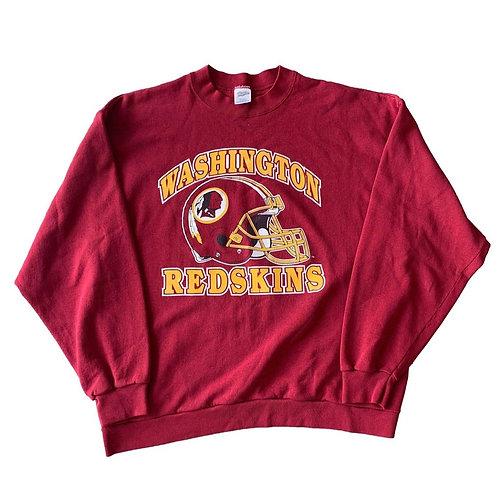 Vintage Washington Redskins Crewneck Sweater By Trench