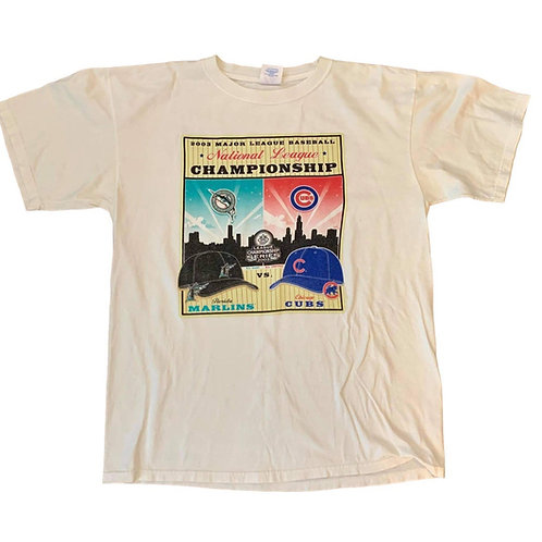 Vintage Chicago Cubs T Shirt By Majestic