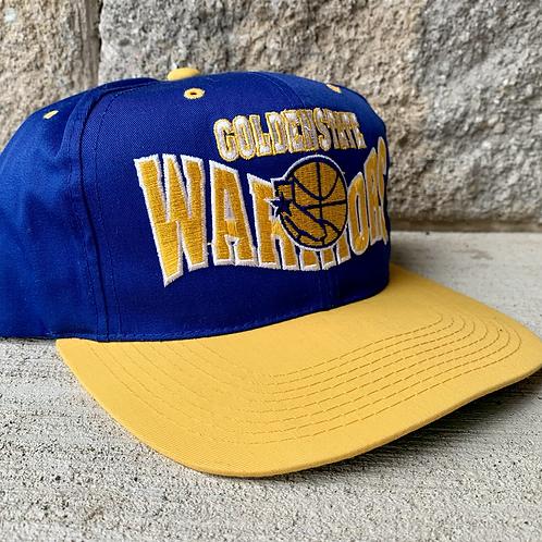 Vintage Golden State Warriors Snapback Hat By G Cap