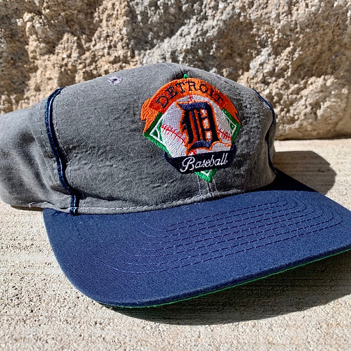 Vintage Detroit Tigers Snapback Hat By The Game