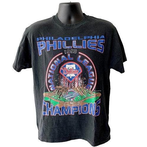 Vintage Philadelphia Phillies T Shirt By Hanes