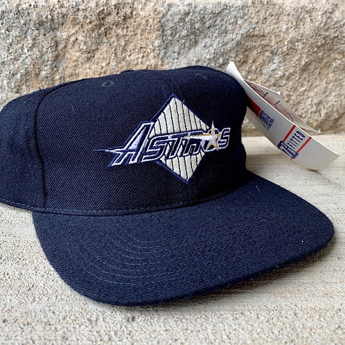 Vintage Houston Astros Fitted Hat By Sports Specialties