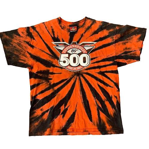 Vintage Indianapolis 500 Tye Die T Shirt By Brickyard