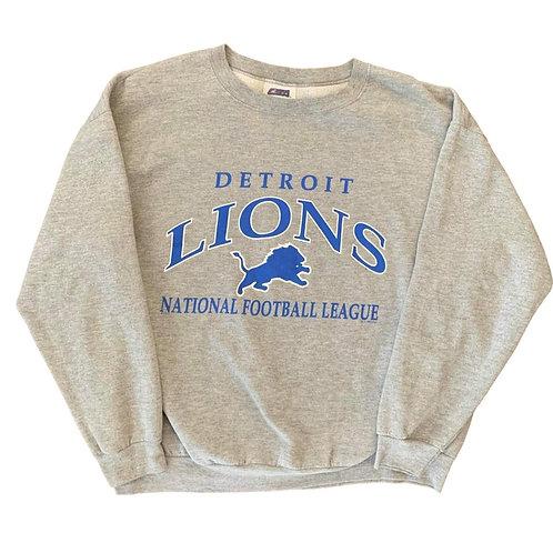 Vintage Detroit Lions Crewneck Sweater By CSA