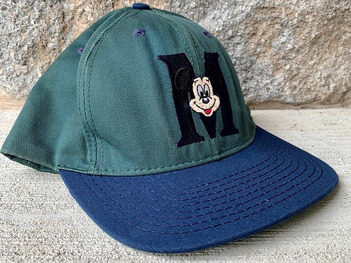 Vintage Mickey Mouse Snapback Hat By Goofey Hat Co