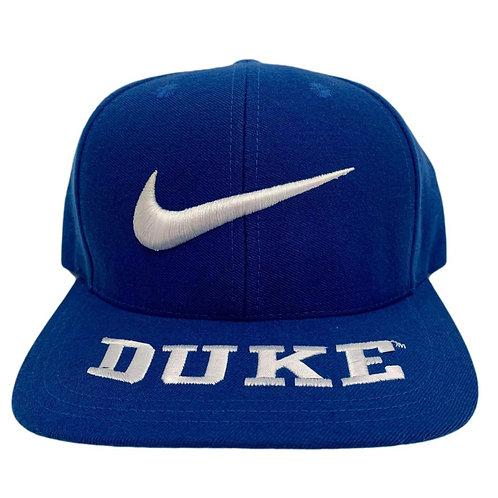 Vintage Duke Blue Devils Snapback Hat By Nike