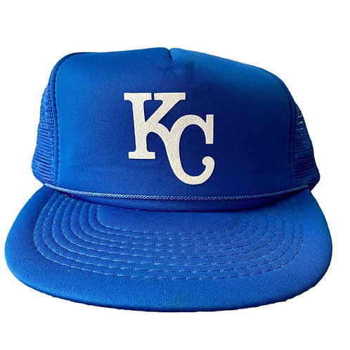 Vintage Kansas City Royals Snapback Hat By Designer Pro