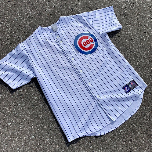Chicago Cubs Alfonso Soriano Mlb Baseball Jersey By Majestic