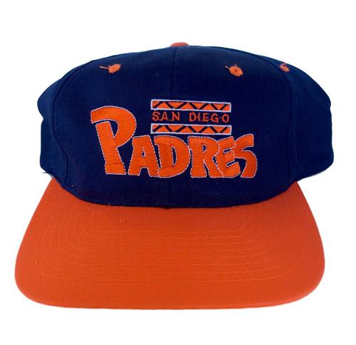 f99db8a4dbb419 Vintage San Diego Padres Snapback Hat by Annco