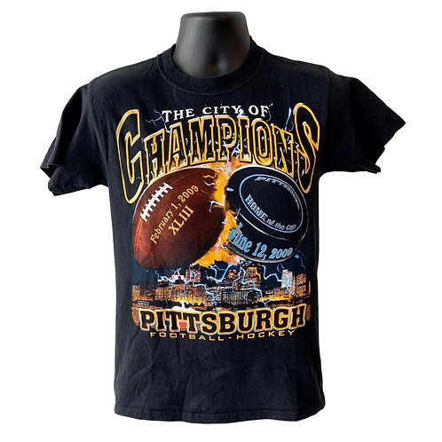 Vintage Pittsburgh Steelers T Shirt By Hanes