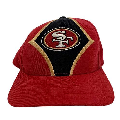 Vintage San Francisco 49ers Velcroback Hat By Starter