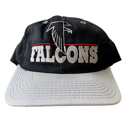 Vintage Atlanta Falcons Snapback Hat By The Game