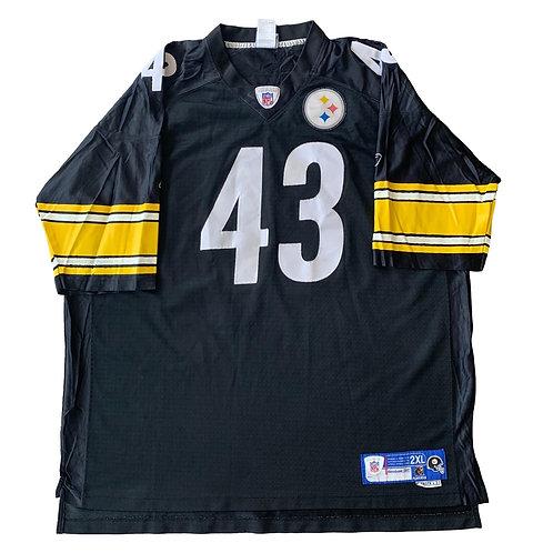 Pittsburgh Steelers Troy Polamalu NFL Football Jersey By Reebok