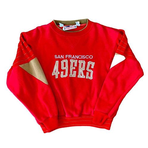 Vintage San Francisco 49ers Crewneck Sweater By Starter