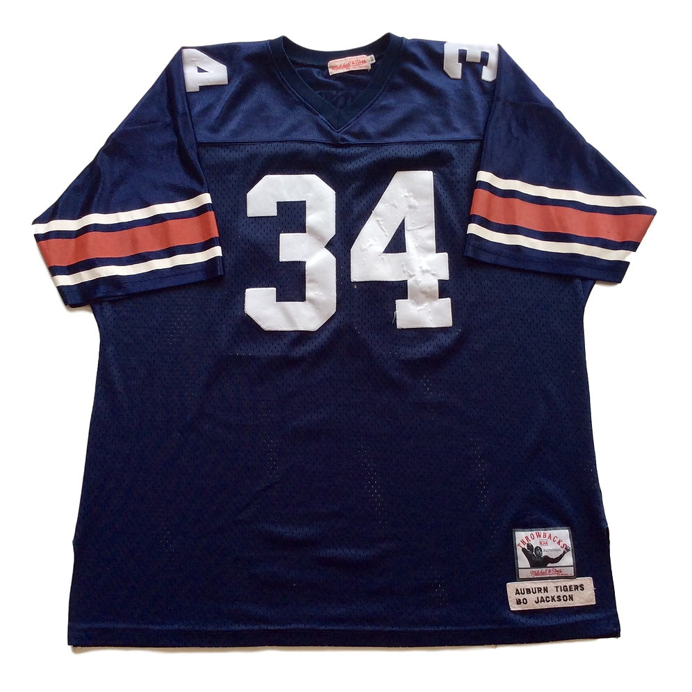 quality design 440b3 c1a3f Auburn Tigers Bo Jackson Jersey by Mitchell and Ness ...