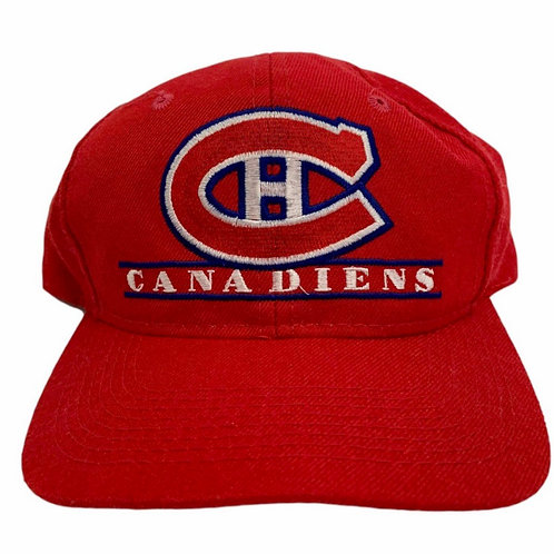 Vintage Montreal Canadians Snapback Hat By The Game